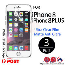 3x LCD SCREEN PROTECTOR GUARD for iPhone 8 8 PLUS anti glare matte /Ultra clear
