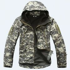 Men Warm Military Fleece Jacket Winter Military Tactical Outerwear Coats Hoodie