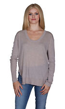 Velvet by Graham and Spencer Camille Lux Cotton Scoop Neck Sweater