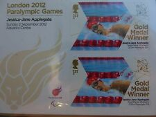 2012 Paralympic Gold Medal Winners Miniature sheets  ~~ Mint Condition