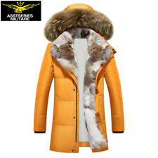 Unisex Down Leisure Jacket Long Women Coat Cotton Hooded Parka Winter Duck Warm