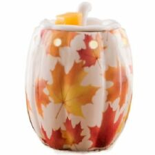 AmbiEscents Fragranced Wax Warmer Autumn Fall Leaves or Harvest Garden Ceramic