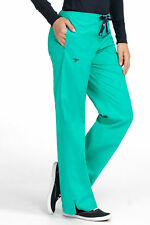 "Med Couture Women's ""Signature"" 8705 Drawstring/Elastic 3 Pocket Scrub Pant"