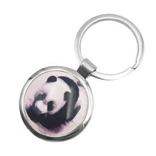 Cute Panda Kitty Key Chain Ring Keyring Women Handbag Pendant Charm Xmas Gift