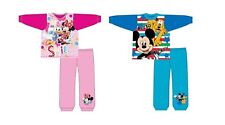 Boys And Girls Kids Baby Toddler Long Sleeve Pyjamas 12/18 Months to 3/4 Years