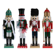 15'' Christmas Wooden Nutcracker Figurine Puppet Xmas Decoration Ornaments