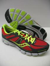 Saucony ProGrid Mirage 3 Performance Running Training Racing Shoes Gray Red Mens
