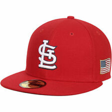 New Era St. Louis Cardinals Red Flag On-Field 59FIFTY Fitted Hat - MLB