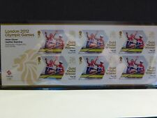 2012 Olympic Gold Medal Winners Miniature sheets SG3342a to SG3353a Mint nh