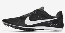 Nike ZOOM VICTORY-3 MEN'S RACING SPIKE Black/Volt/White-Size US 9,9.5,10 Or 10.5