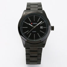 New CURREN Mens Date Analog Military Stainless Steel Quartz Sport Wrist Watch