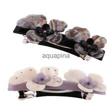 Women Acetate Flower Gripper Hair Claw Hair Clip Barrette Hair Accessories Gifts