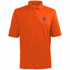 Antigua Detroit Tigers Orange Desert Dry Xtra-Lite Team Polo - MLB