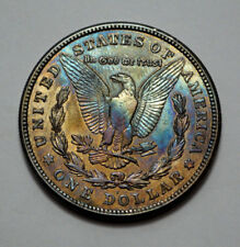 1921-S Morgan $1 Dollar  BETTER DATE , TONED, Silver Coin, No Reserve!