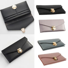 Women Lady Leather Clutch Long Wallet PU Credit Card Holder Case Purse Handbags