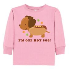 Inktastic Dachshund Hot Dog Funny Toddler Long Sleeve T-Shirt Wiener Humor Dogs