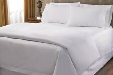 Australian Bedding Collection 1000 Thread Count 100% Egyptian Cotton White Solid