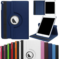 360 Rotating Stand Flip PU Leather Smart Cover Case For Apple iPad Mini 1 2 3 4