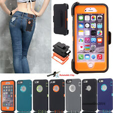 Defender case for Apple iPhone 8 7 6 6s Plus Rugged Protection Belt Clip Cover