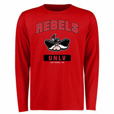UNLV Rebels Red Campus Icon Long Sleeve T-Shirt - College