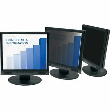 """3M Framed Privacy Filter for 17"""" Standard Monitor Black - For 17""""LCD Monitor (PF"""