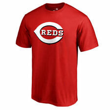 Cincinnati Reds Red Team Color Primary Logo T-Shirt - MLB