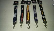 NFL Teams Wristlets Lanyard Keychains Officially Licensed