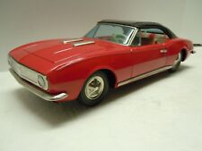 Old Japan Bandai Tin Friction Chevrolet 1967 Camaro SS Car. EXCELLENT & WORKS.