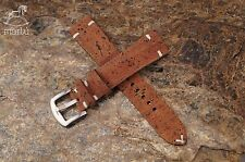 Vegan Cork Watch strap handmade Brown any size available