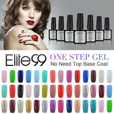 Elite99 UV LED One Step Nail Gel Polish No Need Top Base Coat Soak Off Lacquer