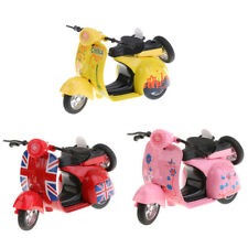 New Mini 1:14 Scale Pull Back Alloy Diecast Motorcycle Motorbike Model Kids Toy