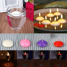 UNSCENTED FLOATING WATER CANDLES HOME DECOR WEDDING BIRTHDAY PARTY