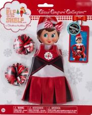 Elf on the Shelf Clothes CHEERLEADER Cheer Gear 4 pc 2016 Claus Couture *NEW*