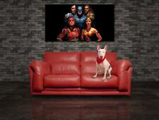 Justice League Movie CANVAS PRINT Wall Decor Giclee Art Poster Flash CA945