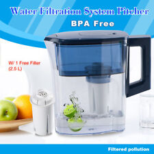 Filter Pitcher Water Purifier Jug with Activate Carbon Filtration System Replace