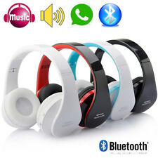 Wireless Bluetooth Stereo Headphone With Mic For PC Samsung Headset MP3 iPhone 7
