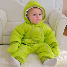 Winter Coat Baby Hooded Jacket Warm Kids Girl Toddler Outwear Clothes Snowsuit