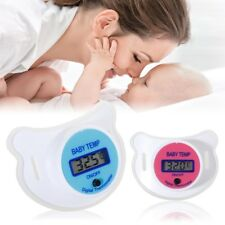 LCD Digital Infant Temperature Mouth Nipple Temp Thermometer Health Baby Kid