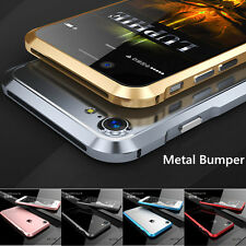 Luxury Aluminum Metal Bumper Case Frame Cover For Apple iPhone 6 6S 7 Plus 5S