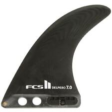 FCS II Flow PG Longboard Fin In Black Genuine New Surfboard Surfing Fin