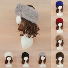 Fashion Ladies Womens Glamorous Faux Fur Russian Cossack Hat Winter Warm Cap