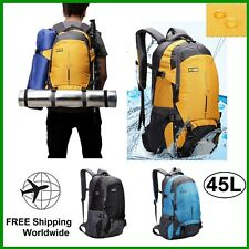 Hiking Backpack Waterproof Lightweight Camping Climbing Travel Bag Medium 45L
