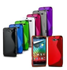 for LG X View / K500n - S-Line Wave Gel Silicone Case Cover