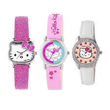 Hello Kity Girls Childrens Wrist Watch Christmas Gift | Pink, White, Pink/Blue