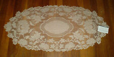 Heritage Lace Windsor 15x33 Oblong Runner Floral pattern 100% Polyester RETIRED