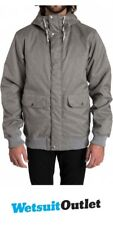 2016 Billabong Rainy Day Jacket GREY HEATHER Z1JK25