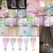 Chic Round Curtain Bed Mosquito Net Mesh Canopy Netting Princess Dome Bedding