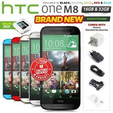 New Factory Unlocked HTC One M8 Black Red Gold Silver Blue 16 32GB Android Phone