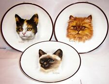 COLLECT WALL PLATES - CATS and FELINES - click SELECT to browse or order