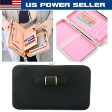Women Ladies Leather Wallet Clutch Phone Card Holders Purse Lady Long Handbag